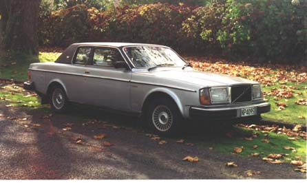 The only Volvo 262 Coupé in New Zealand